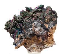 GOETHITE Rainbow CAVE Stalactite Mineral Specimen Botrydial Iridescent Georgia