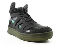 f184d7c24b0 Alexander McQueen by PUMA McQ Move Mid Men Leather Black Basketball Shoe 12