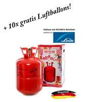 Ballongas Helium Heliumgas Heliumflasche Gas für 50 Luftballons Hochzeit Geburts