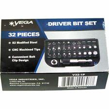 Vega 32pc Security Driver Bit Set 1/4in