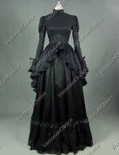 Satin Steampunk Dress Costumes