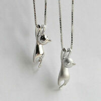 Halskette mit Anhänger. Katze - Schmuck. Farbe Gold Silber