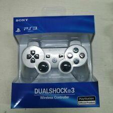 PS3 wireless DualShock 3 CONTROLLER JOYSTICK GAMEPAD PER PlayStation 3 Argento