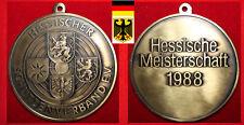 SCHÜTZEN MEDAILLE * BRONZE DSB HESSEN HESSISCHE MEISTERSCHAFT TEAM 1988