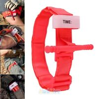 New Tourniquet Rapid One Hand Application Emergency Outdoor First Aid Kit Orange