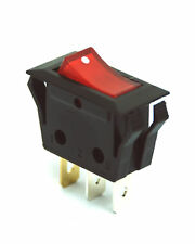 5pc RLEIL Rocker Switch RL1 RL1-5 3P SPST 15A125V 7.5A250V UL VDE RoHS Red