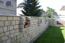 Mauersteine Sandsteinmauer Sandstein Gartensteine