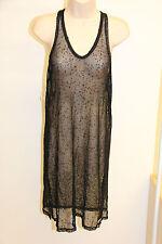NWT Calvin Klein Swimwear Bikini Cover Up Dress Size S Black