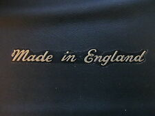 60-0061 MADE IN ENGLAND CLASSIC SCRIPT DECAL TRIUMPH BSA VELOCETTE ARIEL *