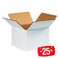 20 Stücke Schachteln Karton Doppel Schicht ULTRA resistent 60x40x35cm weiß
