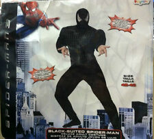 SPIDER-MAN 3 BLACK SUIT ADULT COSTUME SIZE LARGE (42-46) VENOM HTF