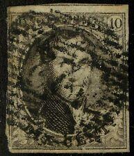 Belgium   1851   Scott #6   USED