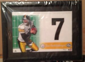 Ben Roethlisberger UD Collectibles Jersey Numbers Collections Framed 21/100
