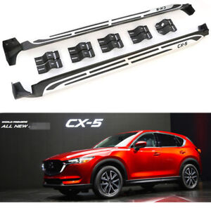 Running Boards Side Steps Pedals Nerf Bar fits for Mazda CX-5 CX 5 CX 2017-2021