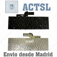 Teclado Español para portátil Samsung NP270E5E nsk-M50sn BA75-04303A Sin Marco