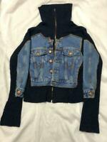 Jean Paul Gaultier Men's Knitted Cardigan Archive Free Size F/S from JAPAN