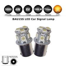 Ámbar de 2 X BAU15S PY21W 5050 8 SMD LED indicador 581 6 V Coche 1156 Bombilla de Señal de Vuelta