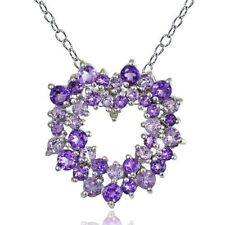 Diamond Amethyst Fine Necklaces & Pendants