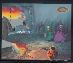 "GRENADA Hades in ""Hercules"" MNH souvenir sheet"