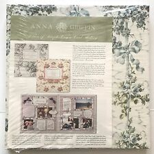 Large Lot Anna Griffin Scrapbook Paper Hard to Find Craft Paper Decorative Paper
