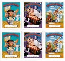 2018 Garbage Pail Kids Oh The Horror-ible! GPK 6 CARD blast BATHROOM BUDDIES SET