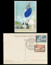 Mayfairstamps Belgium 1958 Exposition Cancel Art Picture Postcard wwi2027