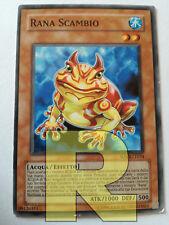 RANA SCAMBIO • • ANDYCARDS Swap Frog • Ultra R • DUOV IT063 • Yugioh