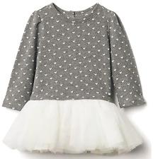 BABY GAP GIRL HEART JACQUARD TUTU DRESS 6-12Month N8