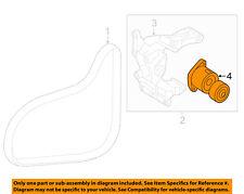 HYUNDAI OEM 17-18 Santa Fe Sport-Belt Tensioner Pulley 252812GGB3