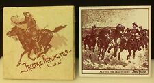 "New ListingWestern Americana Frederic Remington ""Moving The Lead Horses"" Galaxy Collection"