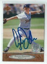 Glenn Dishman Signed 1996 Upper Deck Card #186 San Diego Padres