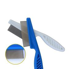Pet Flea Comb Cat Dog Hair Groomer Stainless Steel Trimming Massage Grooming Toy