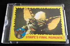 1984 Topps Vault Gremlins Proof Blank Back Stripe's Final Moments Unique Sealed