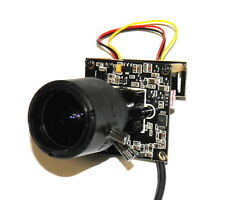 Camera board 700TVL Sony EXVIEW chip, lens 2,8-12mm 2MP IR cut system PAL analog