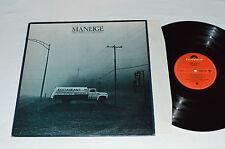 MANEIGE Libre Service - Self-Service LP Polydor Records 1978 Quebec Prog VG/VG