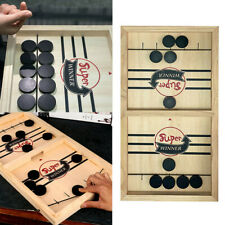 Child Fast Sling Puck Game Paced SlingPuck Winner Board Toys Family Games,