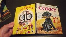 CORKY #267 1972 SYD ~BLACK LABRADOR dog LITTLE GOLDEN BOOK Irma Wilde P SCARRY