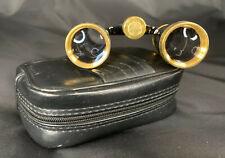 Binolux 3 x 25 Opera Glasses with Case-Mint Condition!