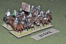 25mm medieval / spanish - 12 moorish cavalry - cav (21622)