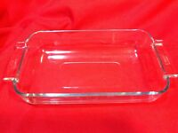 PYREX Baking Dish Clear Glass 236F MADE IN FRANCE