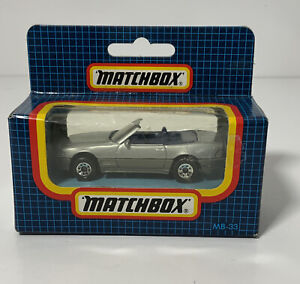 Vintage Matchbox Mercedes 500 SL MB33 In Original Box