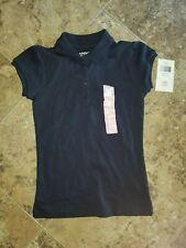 Lands/' End Girl/'s Short Sleeve School Uniform Ponte Dress Navy Blue NWT