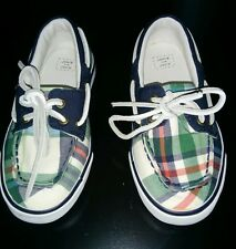 Janie and Jack Boys Boat Shoes Size 9