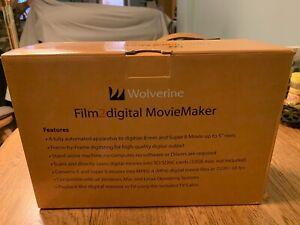 8mm Super 8 digital converter.   Great Condition! Wolverine Digital Movie Maker!