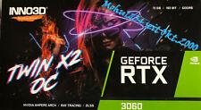 Grafikkarte Inno3D GeForce RTX 3060 Twin X2 OC 12 GB  --Neu in OVP --