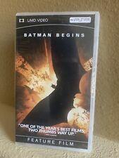 Batman Begins Sony UMD VIDEO PSP PlayStation Portable BRAND NEW SEALED!! 🙌🏼