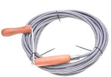 Rohrreiniger Rohrreinigungswelle Rohrspirale 2m bis 20m Durchmesser - 9 mm Pro