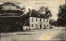 Stedten Thüringen Postkarte 1911 Schloss Palace Gasthaus Gasthof Lokal gelaufen
