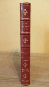 """1912 """"THE SEVEN SEAS"""" by RUDYARD KIPLING - VERY NICE BINDING"""