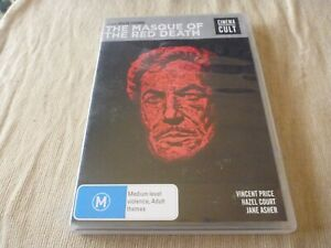 The Masque Of The Red Death (DVD) Region Free NTSC  Vincent Price, Hazel Court